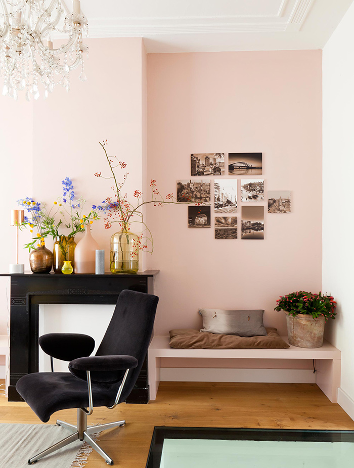 Inspiration interieur salon decoration rose frenchyfancy 3