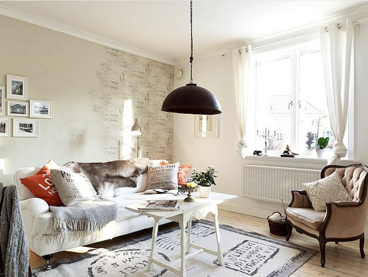 Style cocooning decoration salle sejour cosy
